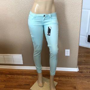 Denim - Unique Sky Blue Stretch Skinny Jeans High Quality
